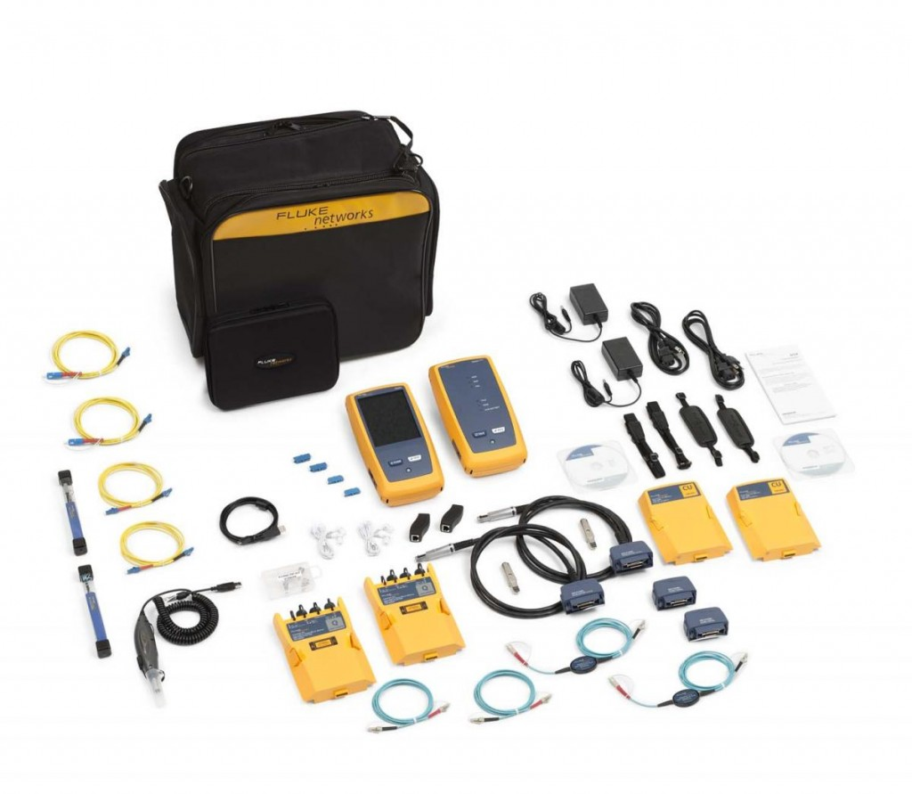 【福祿克】Fluke DSX-5000QOi Cable/ QUAD OTDR & Fiber Inspection測試儀